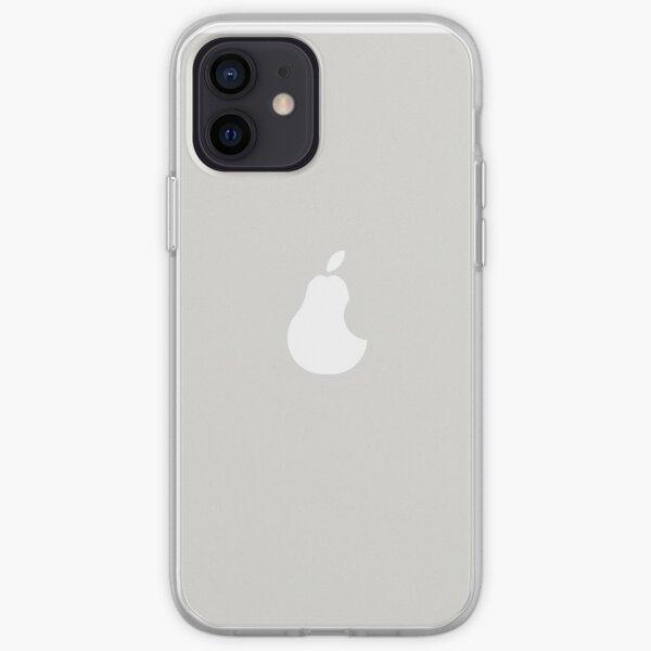 Birne gegen Apfel iPhone Flexible Hülle