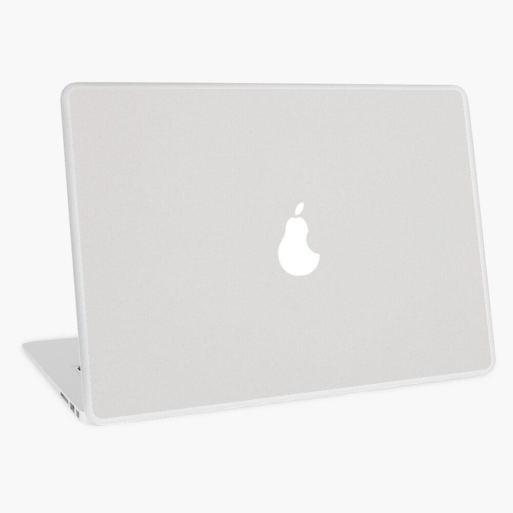 Pear vs Apple Laptop Skin