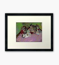 A childs room Framed Print
