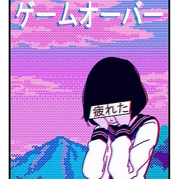 Aesthetic Japanese Girl 13 by MisterNightmare