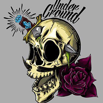 Underground Skull  by LeoZitro
