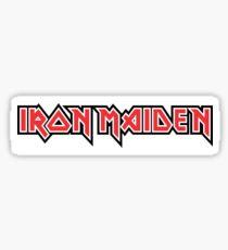 Iron Maiden logo Sticker