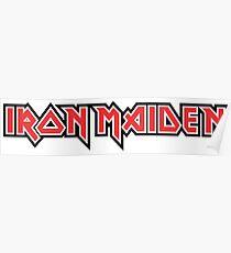 Iron Maiden logo Poster