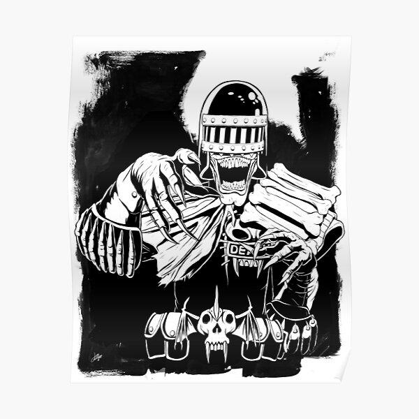 Judge Death. Poster