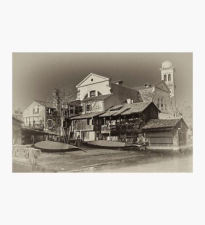 Where Gondolas Born Photographic Print