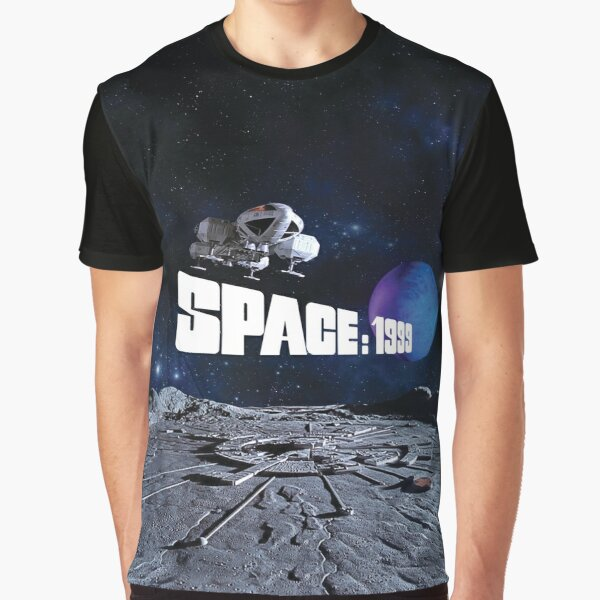 EAGLE OVER ALPHA WITH PLANET 1 Graphic T-Shirt