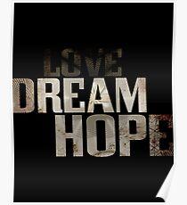 Dream hope Poster