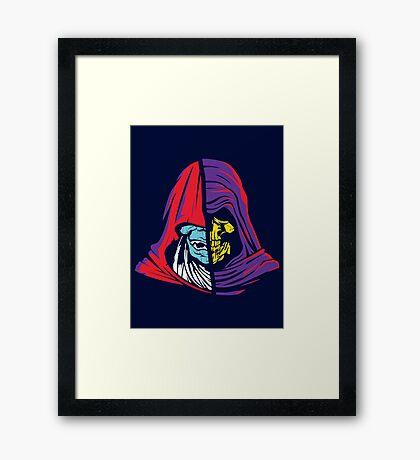Ancient Hoods of Evil Framed Print