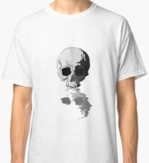 cool water reflection skull  Classic T-Shirt