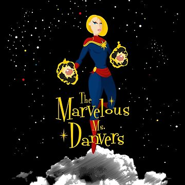 The Marvelous Ms. Danvers by ikadoart