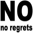 No regrets by Tito Victoriano
