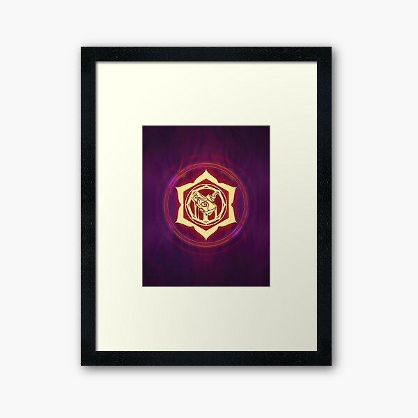 Champions of Hara Ayako Sigil Framed Art Print