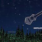 "Davenport Johnson ""Constellation"" CD Mug by Dave-id"