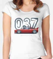 037 Stradale Women's Fitted Scoop T-Shirt