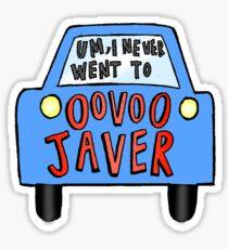 Oovoo Javer VINE Sticker