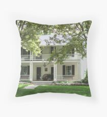 Hector.C. Haight House/Union Hotel Throw Pillow