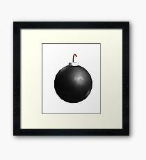 Roblox Bomb Framed Print
