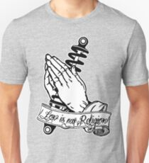 Praying Hands with Coilovers Unisex T-Shirt
