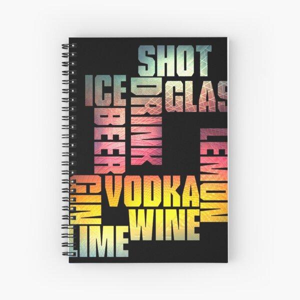 Drink 3 Spiral Notebook