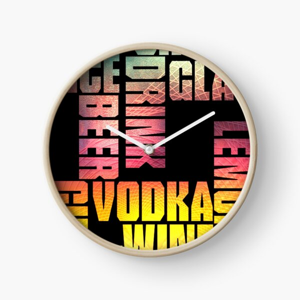 Drink 3 Clock