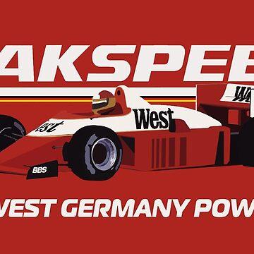 ZAKSPEED 861 - 1986 F1 SEASON by SUNSET-STORE