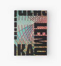 Drink text Hardcover Journal