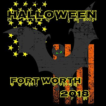 Fort Worth Texas Halloween 2018 Apparel by highparkoutlet