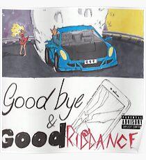 Auf Wiedersehen & guten Riddance - Saft WRLD Poster