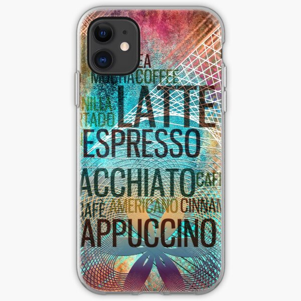 Coffee iPhone Soft Case