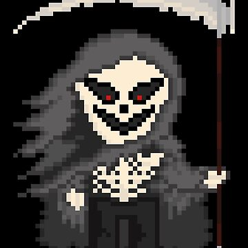 Pixel Monster Grim Reaper by gkillerb