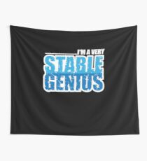 Stable Genius Wall Tapestry