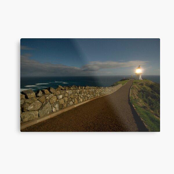 Cape Reinga, Lighthouse. Metal Print
