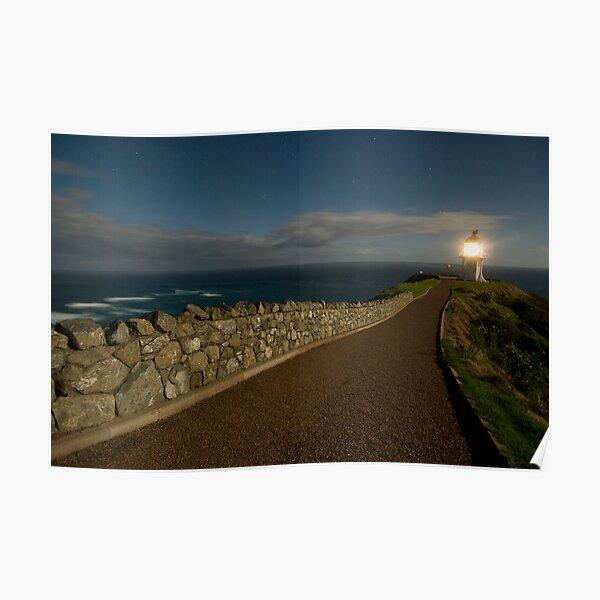 Cape Reinga, Lighthouse. Poster