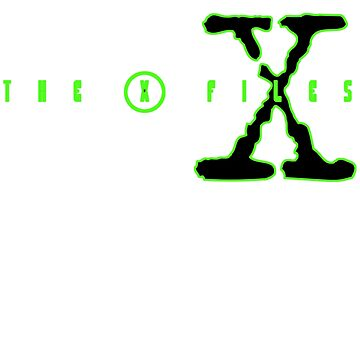 X Files, X-Files X Logo T-Shirt by BoringCoShirts