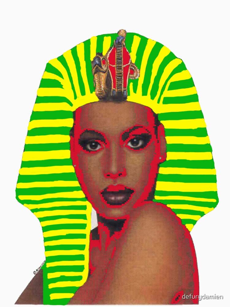 New Wave Nubian Queen by defurydamien