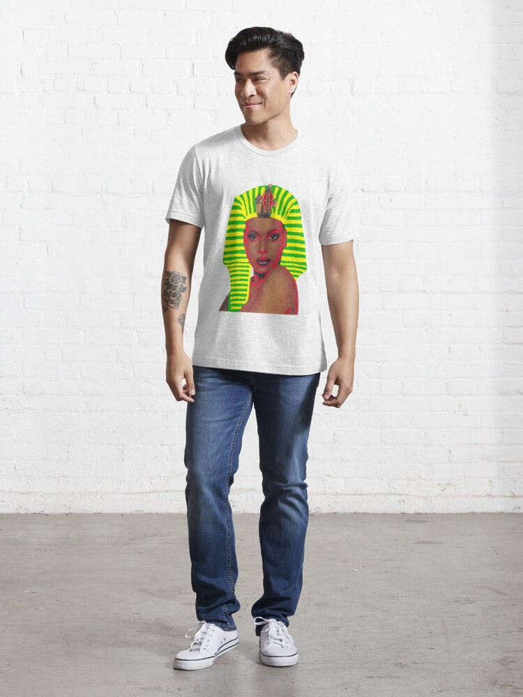 Alternate view of New Wave Nubian Queen Essential T-Shirt