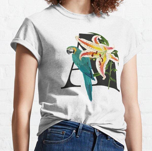 Botanical Alphabet A Classic T-Shirt