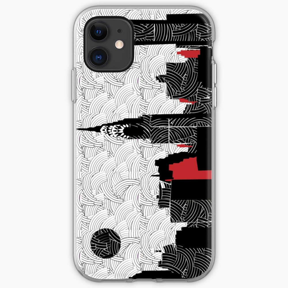 New York City Skyline Swing  iPhone Case & Cover