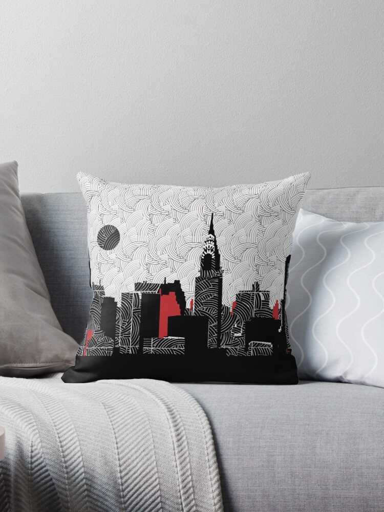 New York City Skyline Swing  by CecelyBloom
