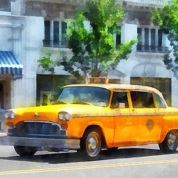 Vintage Checkered Cab by SudaP0408