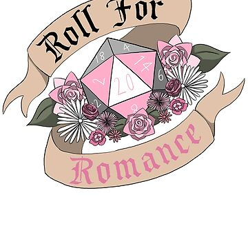 Roll For Romance - Demigirl Pride by flailingmuse