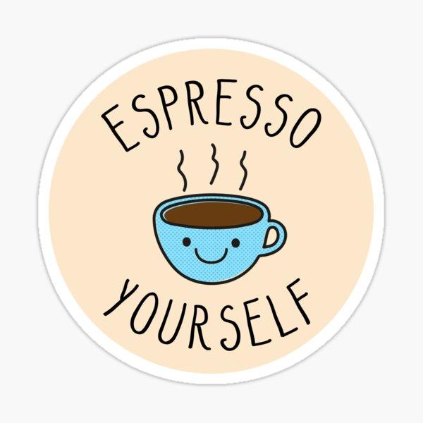 Espresso selbst Sticker
