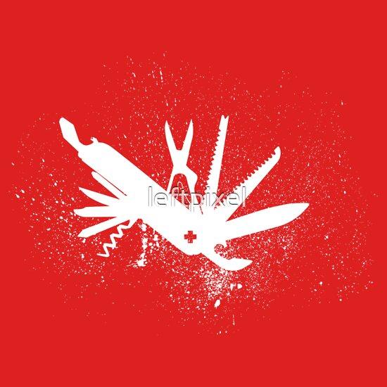 TShirtGifter presents: Weapon Swiss