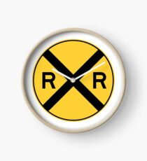 Reloj Advertencia de ferrocarril