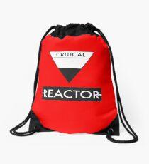 The Critical Reactor of Peladon Drawstring Bag