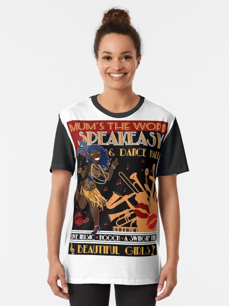 Alternate view of Deco Dance Hall 2 Graphic T-Shirt