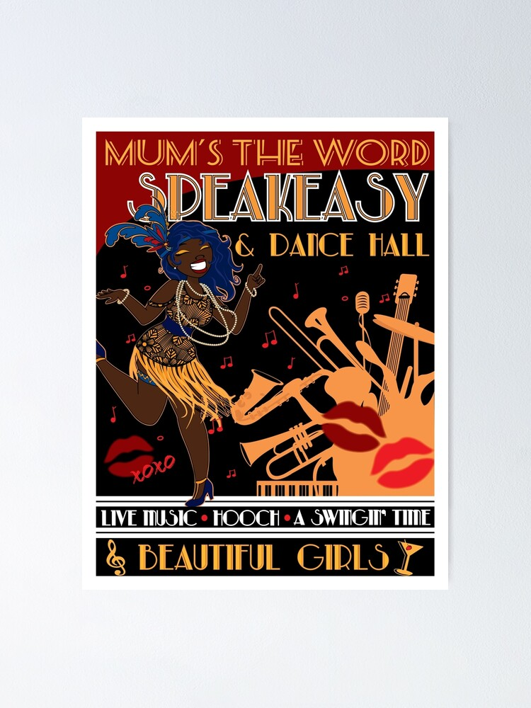 Alternate view of Deco Dance Hall 2 Poster