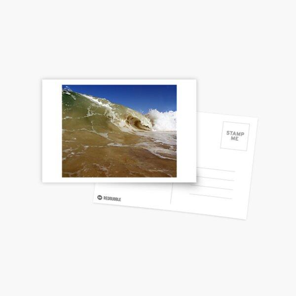 The Curl (colour) Postcard