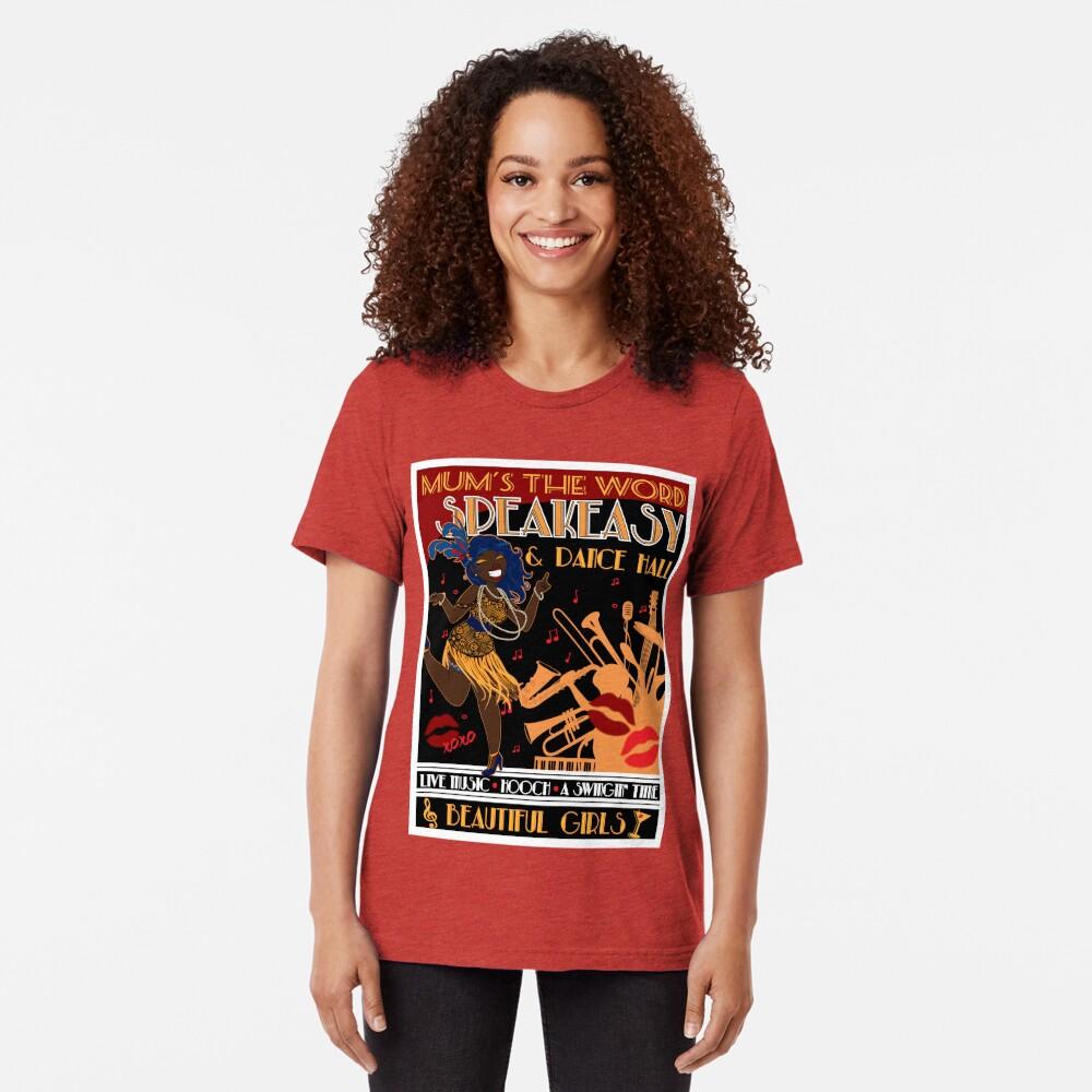 Deco Dance Hall 2 Tri-blend T-Shirt