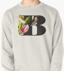 Botanical Alphabet B Sweatshirt